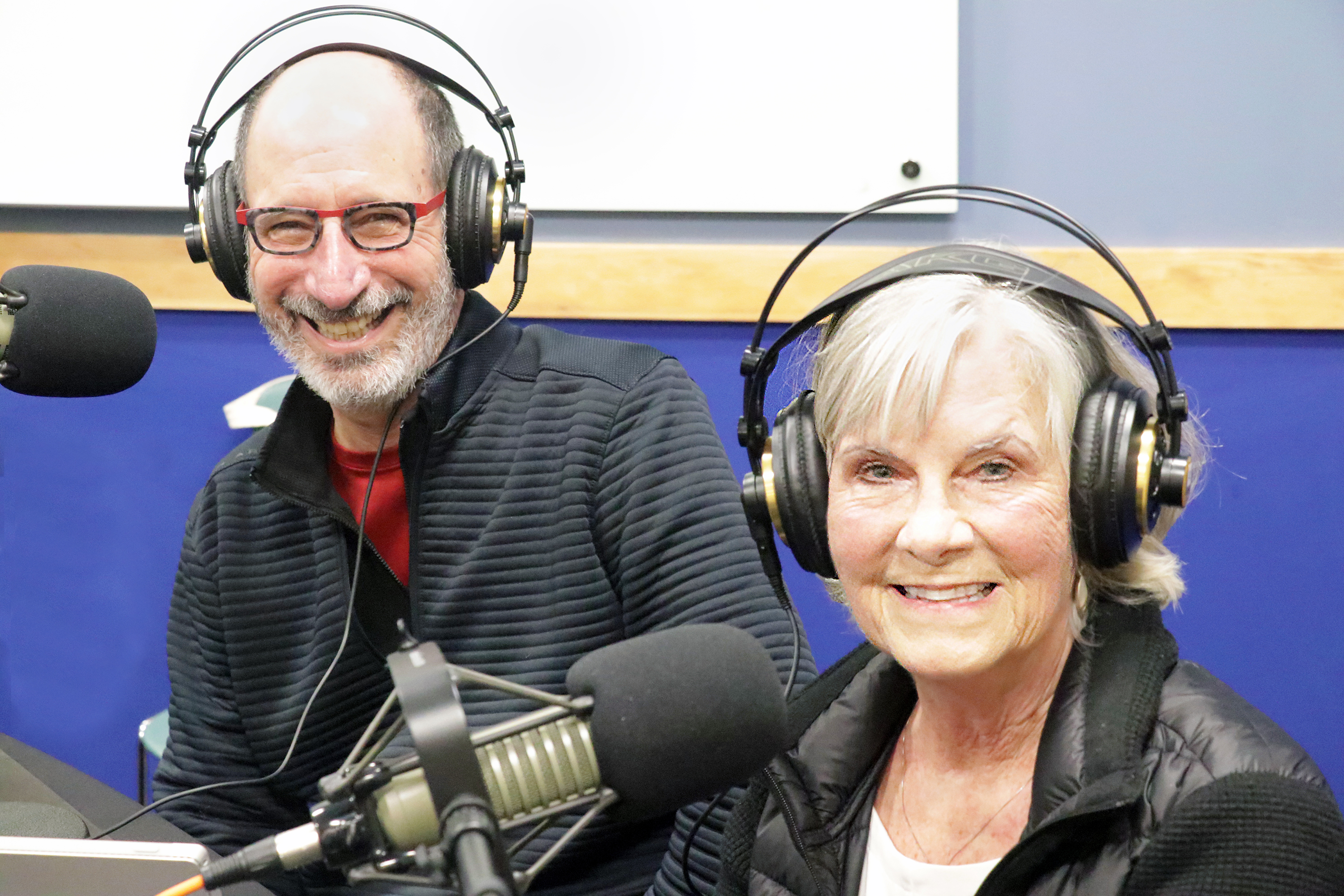 Documentary filmmakers Mike Rosen and Sharon Howard have traveled the world